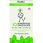 IQ Superfood Plush Peppermint Raw Chocolate - 35g