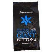 Montezuma's Organic 54% Dark Giant Buttons 180g
