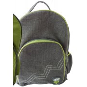 Jute & Cotton Blend Backpack - Grey
