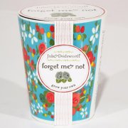 Julie Dodsworth 'Grow Your Own' Ceramic Planter - Forget me Not