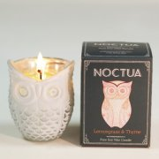 Noctua Hand Poured Soy Candle - Lemongrass & Thyme