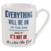 Home Front Ceramic Mug - Everything Will Be Ok - 400ml