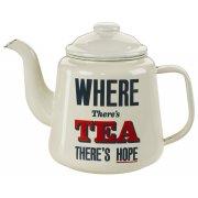 Home Front Enamel Teapot - 1.5L