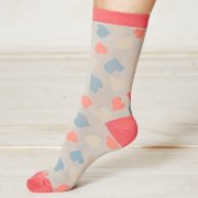 Braintree Happy Heart Bamboo Socks