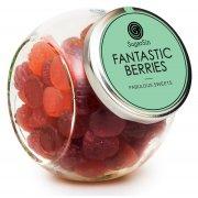 Sugar Sin 100% Natural Fantastic Berries Vegan Jelly Sweets - 320g
