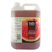Faith In Nature Shower Gel & Foam Bath - Watermelon - 5L