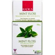 Radius Vegan Xylitol Dental Floss - Mint - 50 Metres