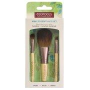 Eco Tools Bamboo Mini Essentials Make-Up Brush Set - 3 Brushes