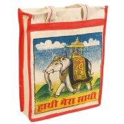 Reusable Shopping Bag - Bollywood Elephant