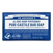 Dr Bronner Organic Peppermint Soap Bar - 140g