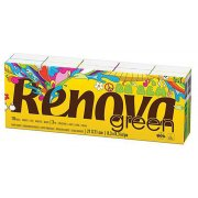 Renova Green Paper Tissues - 100% Recycled - 10 Pack