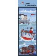 RNLI Slim Calendar 2017