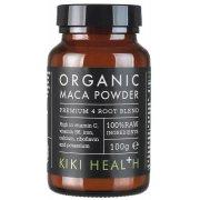 Kiki Health Organic 4 Root Premium Maca Powder - 100g