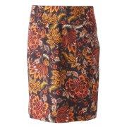 Nomads Aurora Fair Trade Floral Cord Skirt