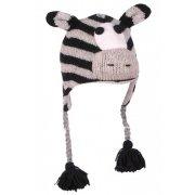 Kid's Fair Trade Zebra Chullo Hat - One Size
