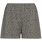 People Tree Stars Print Pyjama Shorts - Grey
