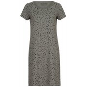 People Tree Stars Print Nightdress - Grey