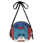 Fair Trade Childrens Shoulder Purse - Cat
