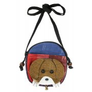 Fair Trade Childrens Shoulder Purse - Dog