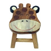 Fair Trade Childrens Giraffe Stool