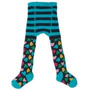 Frugi Little Norah Heart Tights