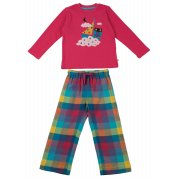 Frugi Super Owl Boat Pyjama Set