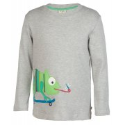 Frugi Joe Applique Chameleon Top