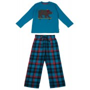Frugi Super Skateboarding Bear Pyjama Set