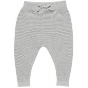 Sense Organics Proust Knitted Baby Pants - Grey Melange