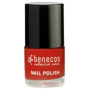 Benecos Nail Polish - Vintage Red - 9ml