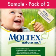 Moltex Nature Disposable Nappies - Sample Pack of 2 Nappies