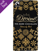 Divine 70% Dark Chocolate - 100g