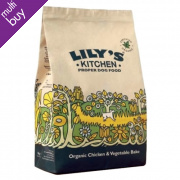 Lily's Kitchen Organic Chicken & Vegetable Bake For Dogs - 1Kg