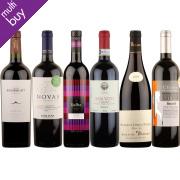 Box of 6 Premium Organic Red Wines
