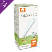 Organyc Super Plus Applicator Tampons - Pack of 14