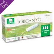 Organyc Super Tampons - Pack of 16