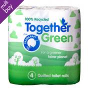 Traidcraft Recycled Toilet Tissue (4 rolls)