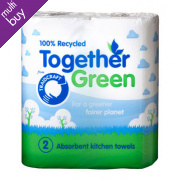 Traidcraft Recycled Kitchen Roll (2 pack)