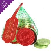 Divine Fairtrade 70% Dark Chocolate Coins 65g