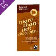 Traidcraft Organic Caramel Espresso Chocolate 100g