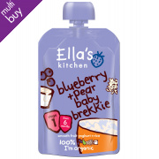 Ella's Kitchen Baby Brekkie - Blueberry & Pear 100g