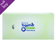 Traidcraft Together Green Facial Tissues