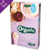 Organix Banana & Plum Porridge - 200g