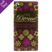 Divine Dark Chocolate with Almonds & Raisins - 100g