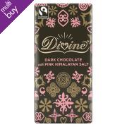 Divine Dark Chocolate with Pink Himalayan Salt - 100g
