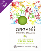 Organii Organic Cream Soap Lime Blossom - 100g