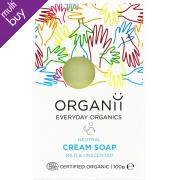 Organii Organic Cream Soap Bar - Neutral - 100g