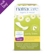 Natracare Organic Cotton Panty Liner - Tanga - 30