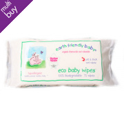 Earth Friendly Eco Baby Wipes - Pack of 72