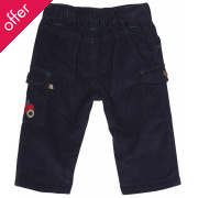 Frugi Little Cord Combats - Navy